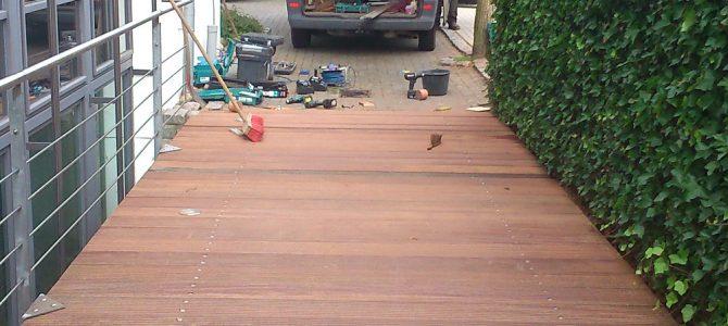 Eine kleine Überblick von unsere Holzarbeiten, Terrassen und Zaunbau 2018